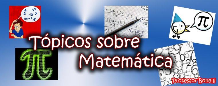 Tópicos de Matemática