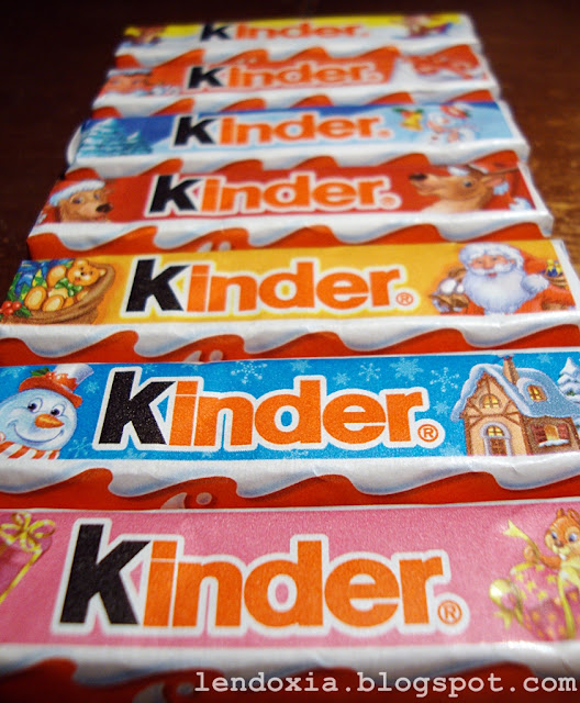 kinder cokolade