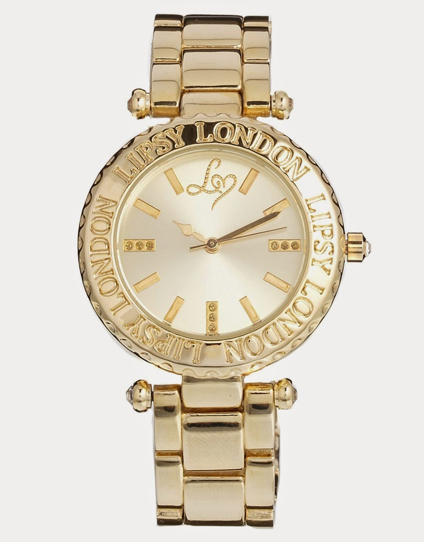Authentic Lipsy London Gold Diamond Stone Watch (preorder Super SALE!)