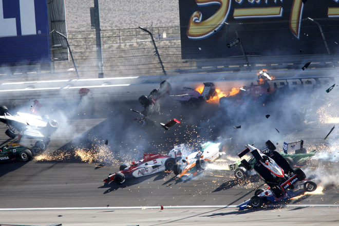 dan wheldon crash