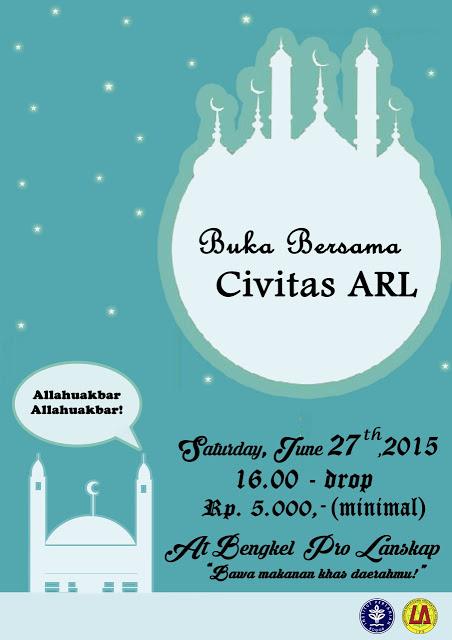 Buka Bersama Civitas ARL 2015