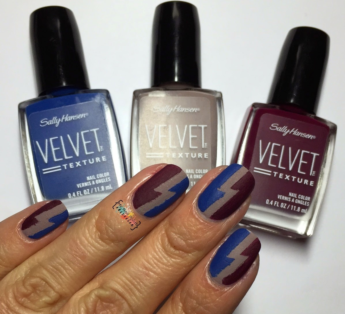 Sally Hansen Velvet Texture Lush, Lavish & Regal