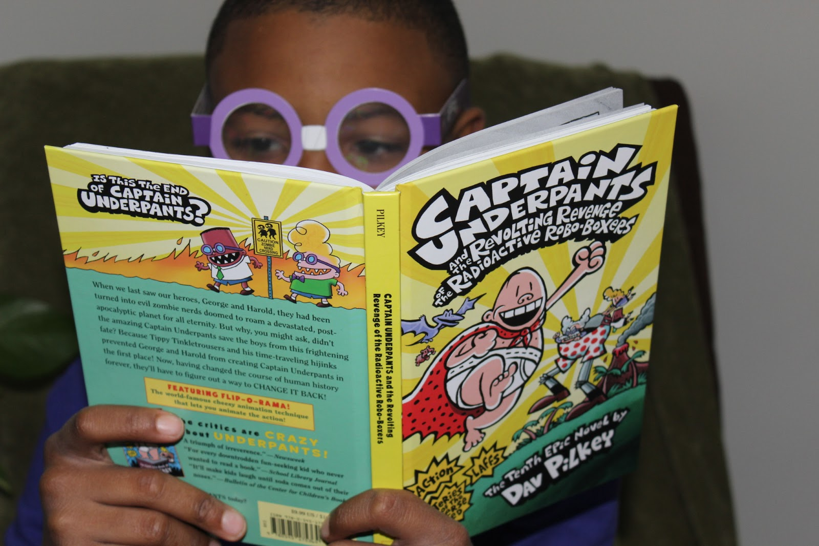 Captain Underpants And The Revolting Revenge Of The Radioactive Robo
