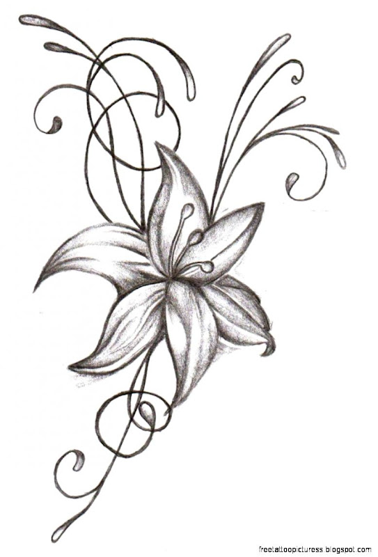 Pictures Of Tattoo Flowers