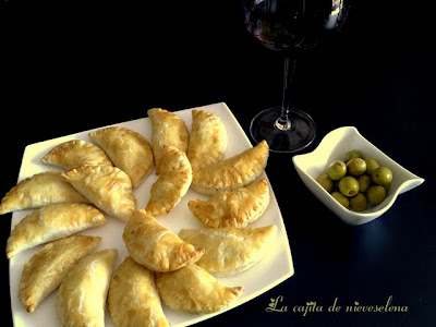 Empanadillas De Queso Y Jamón Ibérico Horneadas