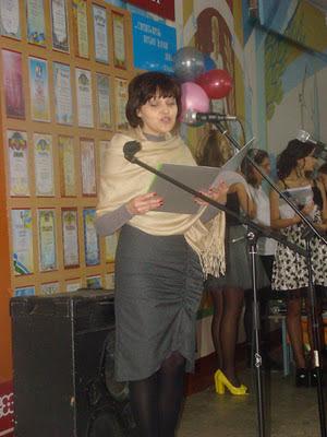 Привітання з днем 40-річчя школи №20 м. Миколаєва від імені ректора МДАУ В.С. Шебаніна.