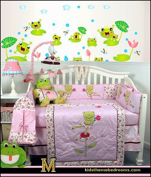Frog Theme Bedrooms Decor Themed Gifts Froggy Wallpaper Murals