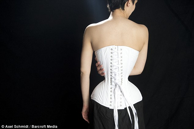 Woman Gets A Miniscule 16 Inch Waist By Sleeping In A Corset For THREE Years