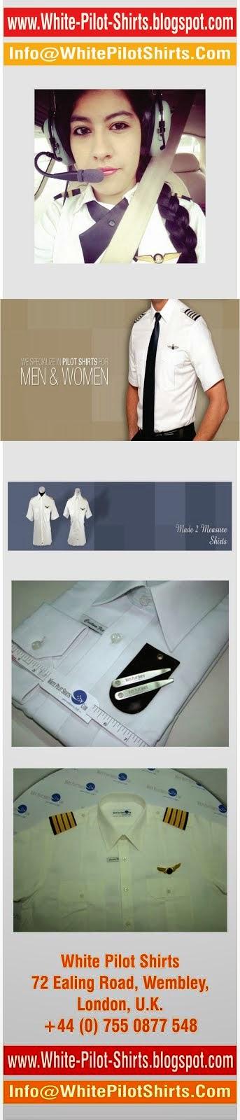 White-Pilot-Shirts