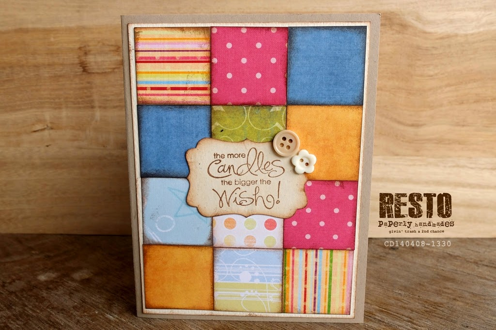 CD140408-1330 No Sew Quilt Birthday