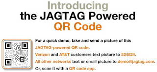QR Codes powered by JAGTAG for feature phones announced