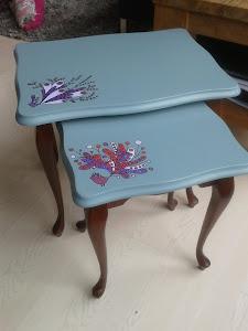 Een paar voorbeelden van de door mij gemaakte meubels