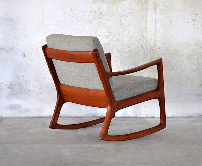 ... -Century Modern Design Finds: Danish Modern Teak Rocking Chair