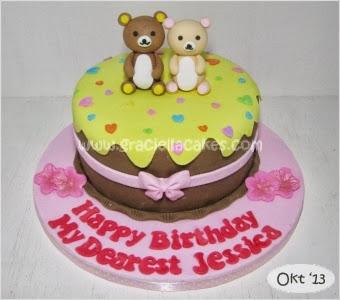 Rilakkuma Mini Cake For Jessica