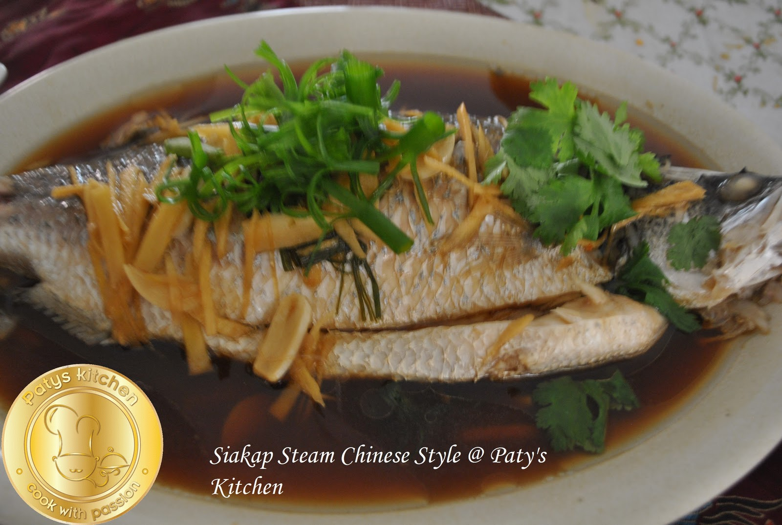 Masakan Ikan Kukus Ala Cina