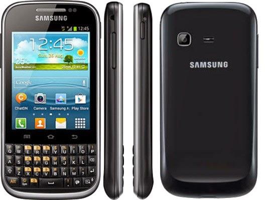 Harga dan Spesifikasi Lengkap Samsung Galaxy Chat B5330 [UPDATE]