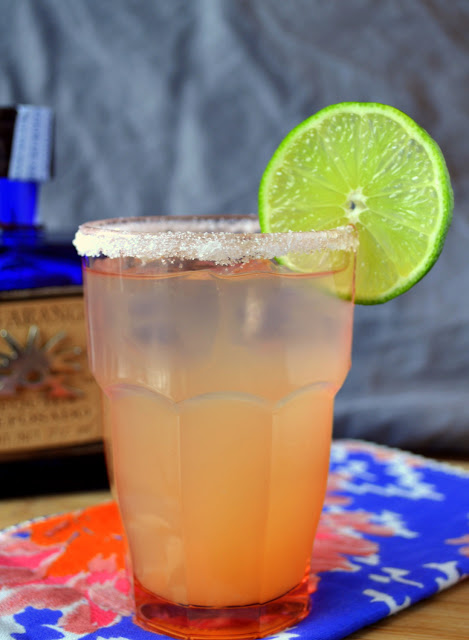 Paloma Grapefruit Tequila Cocktail recipe