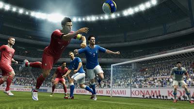 PES 2013 | Cristiano Ronaldo diving header