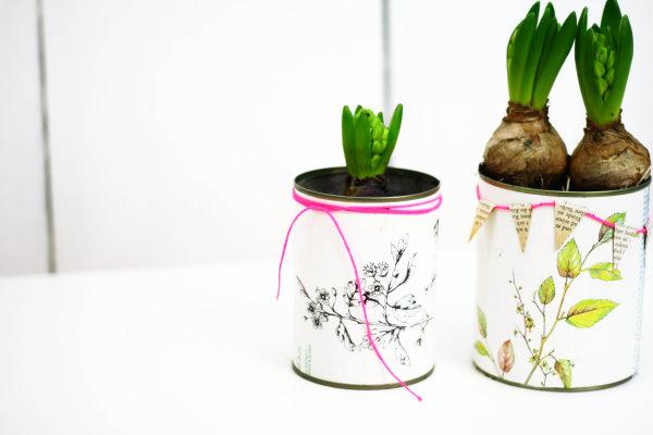 DIY Blumentöpfe