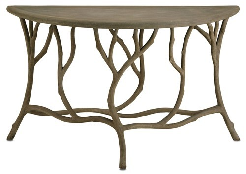 Burke Decor Currey & Company Hidcote Console Table