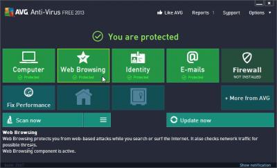 Antivirus AVG 2013 Online/Offline Installer