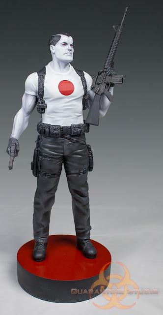 Bloodshot 1/6 Scale Statue by Valiant Comics x David Aja x Quarantine Studio