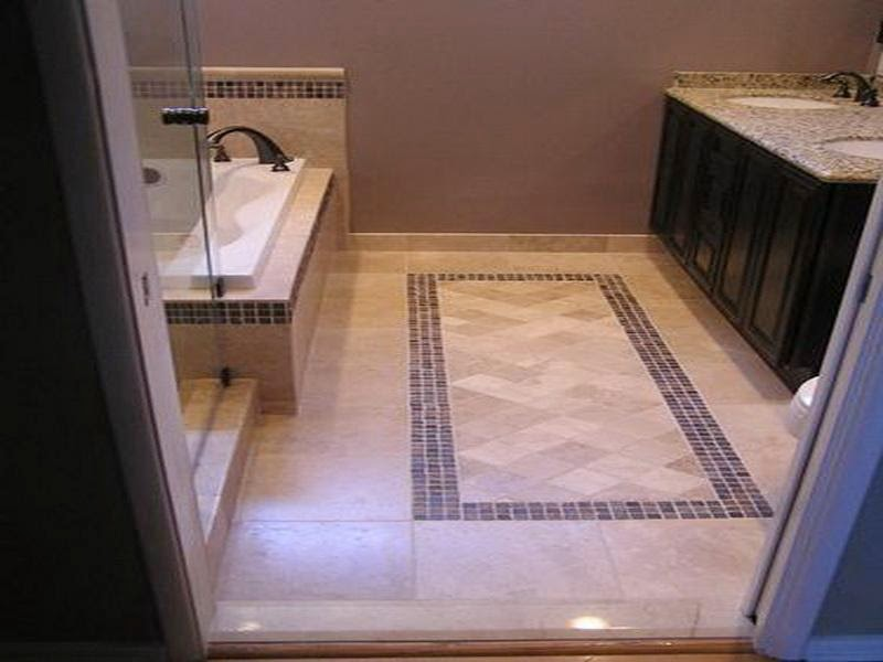 Floor Tile Patterns For Small Bathroom - Modern House Pictures