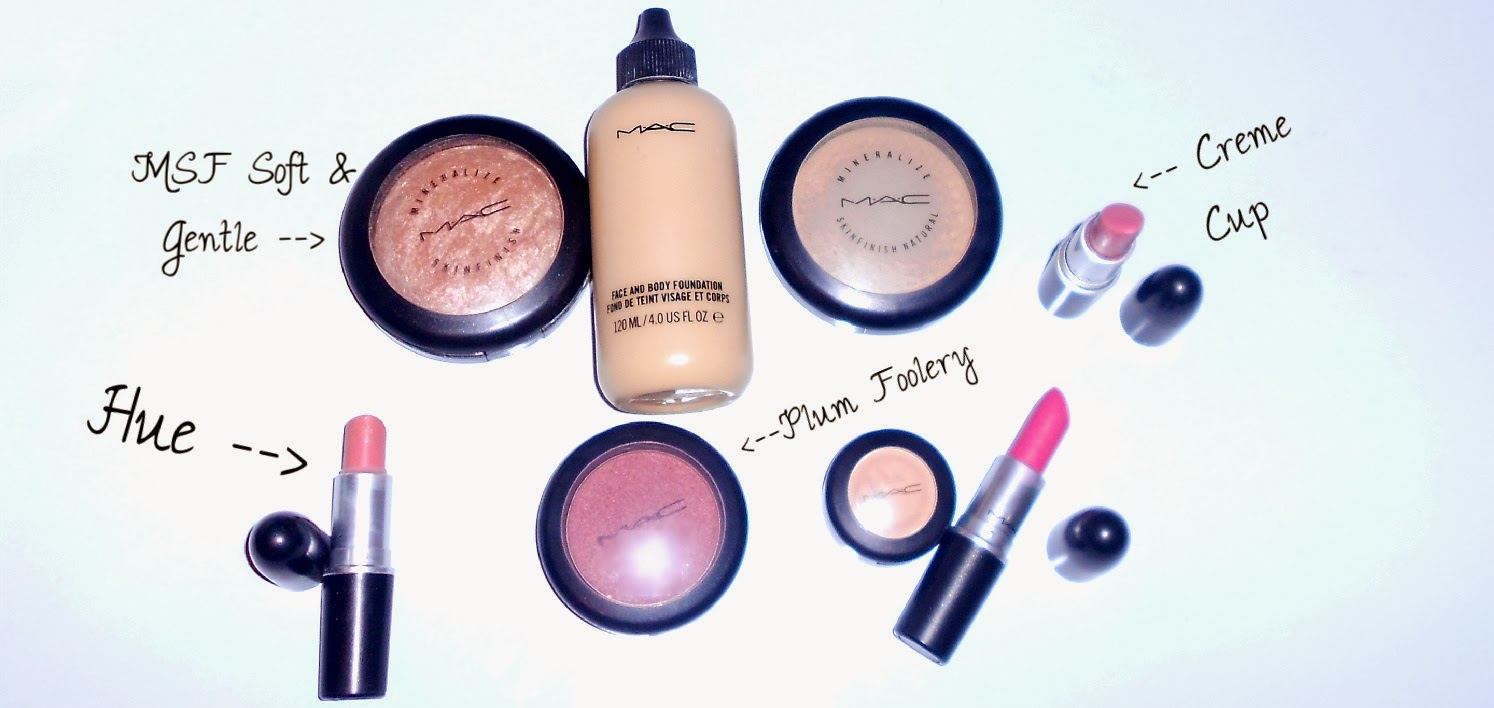 favourite mac products mac starter kit mac collection cosmetics