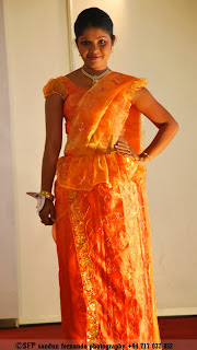 sri lankan traditional dress
