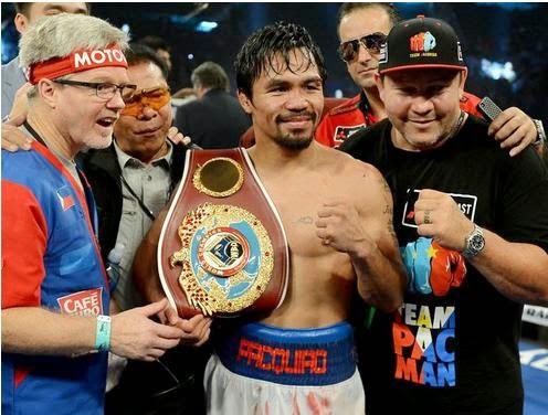 Manny Pacquiao, Timothy Bradley, Pacquiao vs Bradley