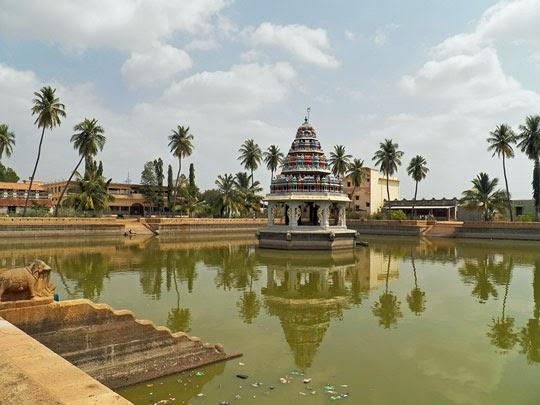 Karaikudi Temple Festival The Temple Tank at Karaikudi