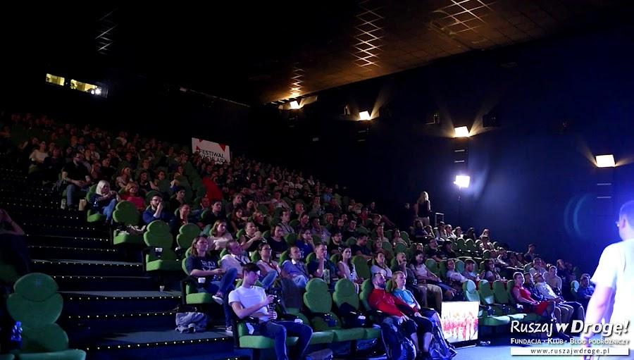 Naszej prezentacji na Wachlarzu słuchała cała kinowa sala