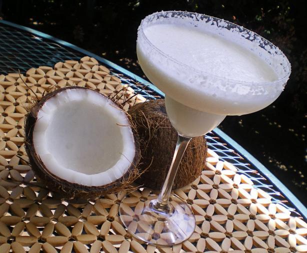 Secrets, Lies and Margaritas: Coconut Margarita