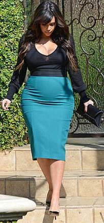 Kim Kardashian's baby bump this week! new Kim Kardashian pegnant pictures