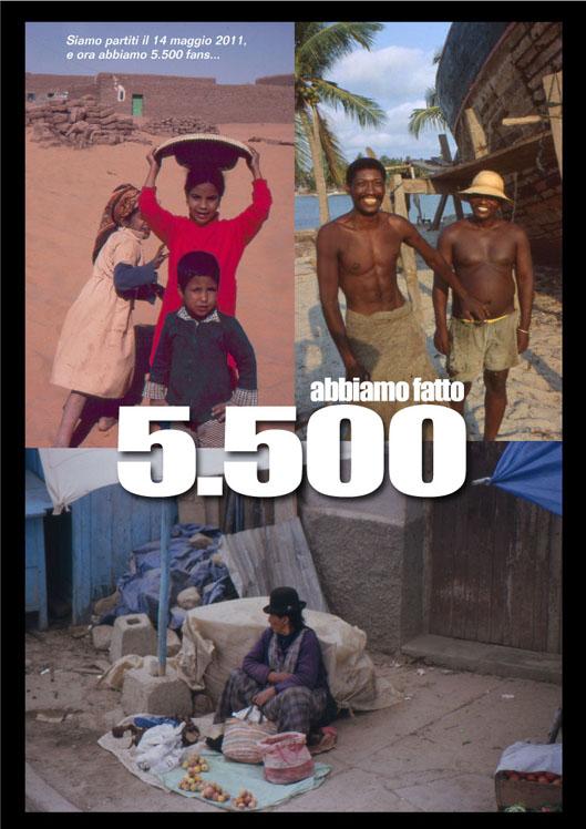 """5.500 FAN DI """"SULLE VIE DEL MONDO"""""""