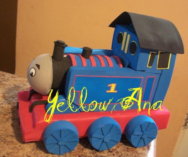 El Rincon de Yellow Ana: Thomas el Tren Foamy