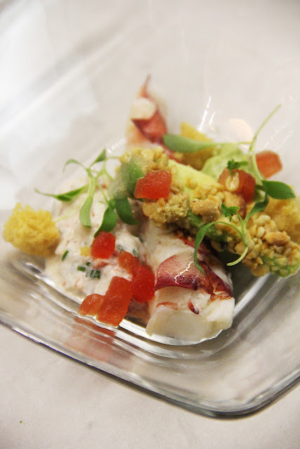 Lobster Salad by Chef Urvin Croes - © Steven Freeman