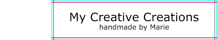 My Creative Creations - handmade by Marie