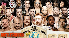 Battleground Battle Royal por el WWE Intercontinental Championship