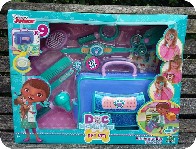 Doc McStuffins Pet Vet Bag Blog Review
