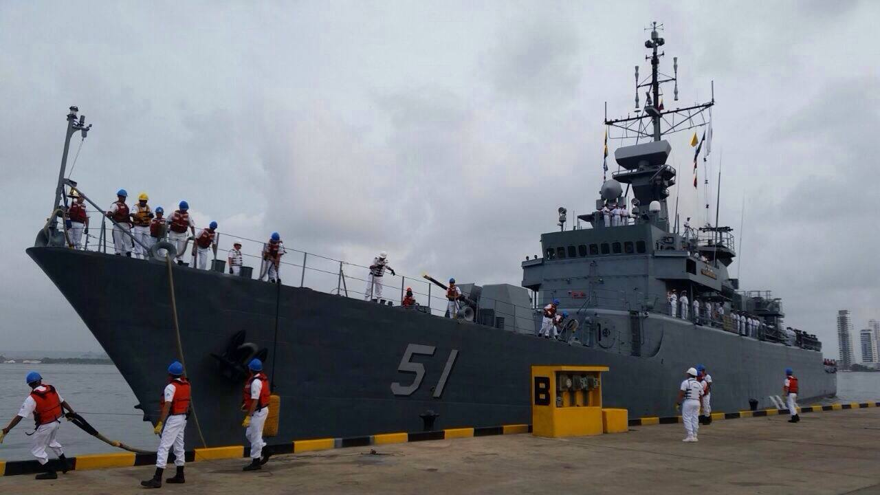 Frigate ARC Almirante Padilla Colombia Navy