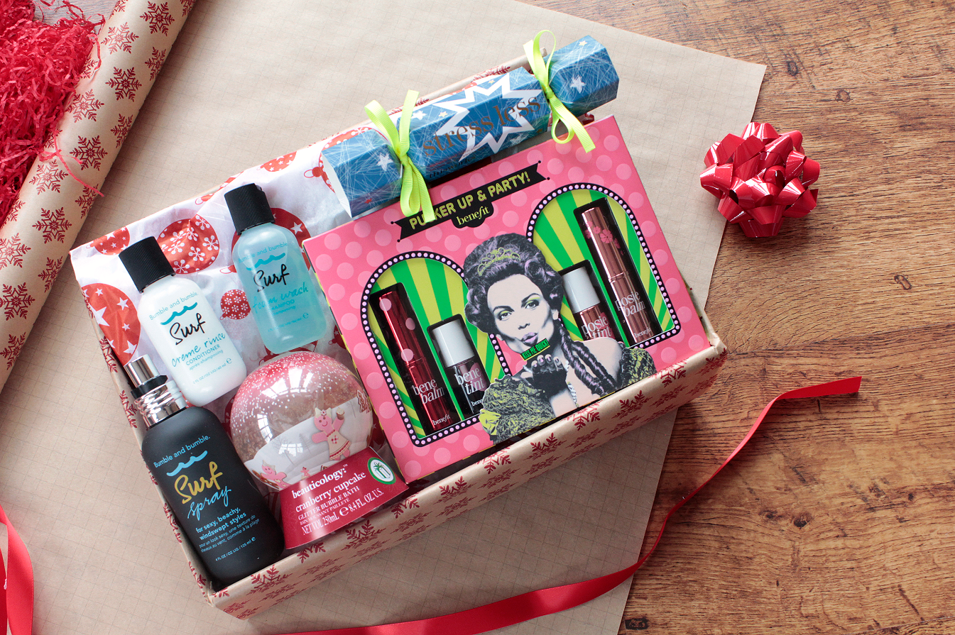 Beautys bad habit diy christmas beauty gift hamper with boots solutioingenieria Choice Image