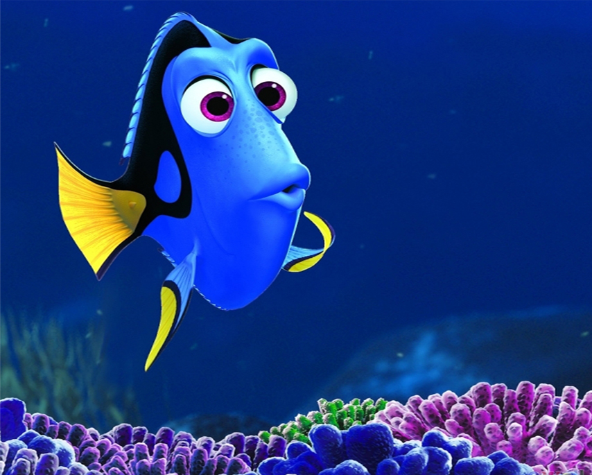 7 Free Disney Characters Dory Finding Nemo Cartoon Wallpaper