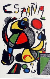 Obra de Miró.