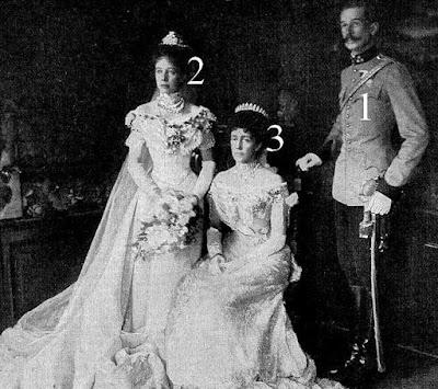 Mariage du prince Aloys de Liechtenstein et d'Elisabeth d'Autriche (20 avril 1903)