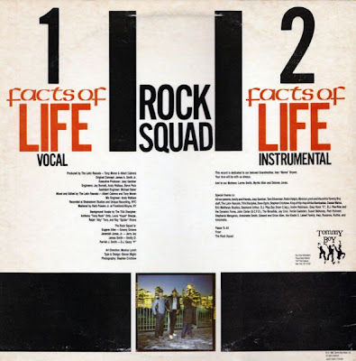 Rock Squad ‎– Facts Of Life (1985, 12'', VBR)