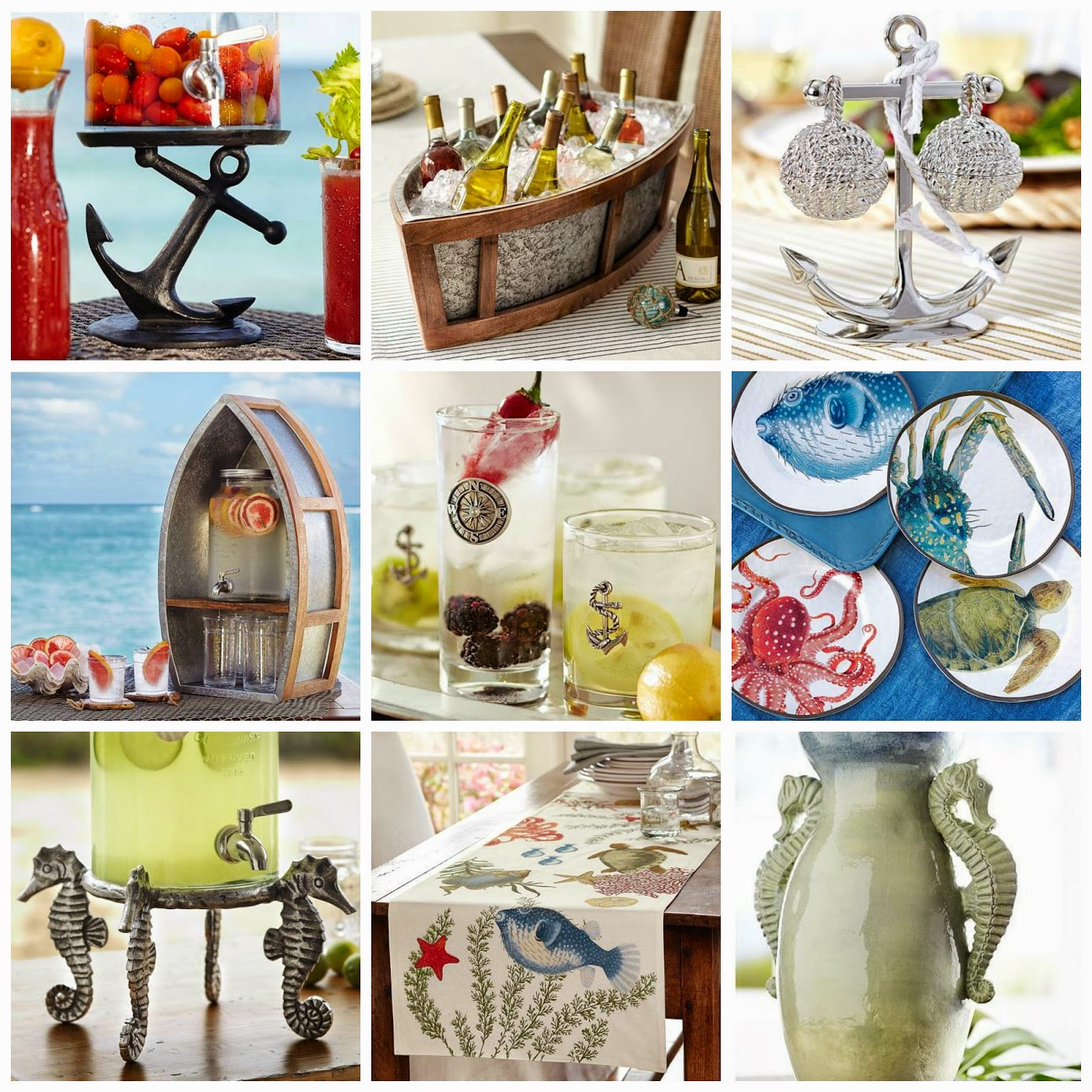 Nautical by Nature | Pottery Barn Summer 2014 Nautical