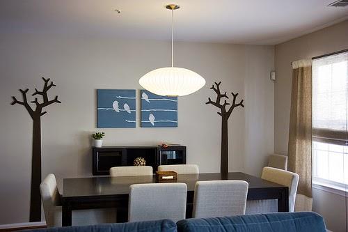 model lampu gantung ruang makan