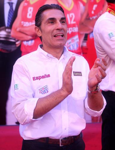 Sergio Scariolo selección española de baloncesto campeona de Europa Eurobasket 2011