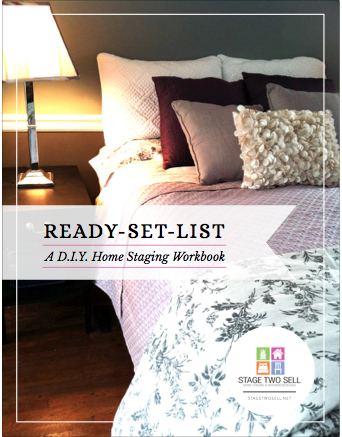 Ready Set List: DIY Home Staging Workbook